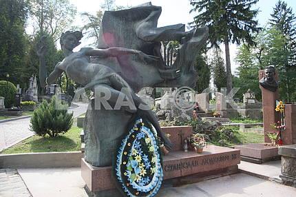 Памятник Станиславу Людкевичу на Лычаковском кладбище