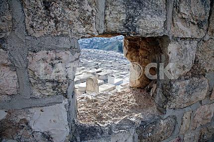 Еврейское кладбище на Елеонской горе в Иерусалиме