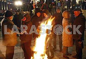 Вторая годовщина Евромайдана.