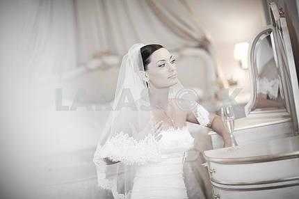 Портрет красивая невеста