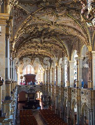 Органный зал в замке Росенборг