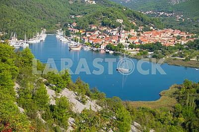 Плитвицкое озеро в Хорватиии