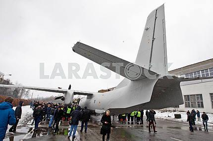 Хвост самолета АН-132д