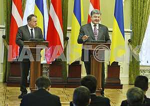 Встреча Президента Украины и премьер министр Королевства Дания