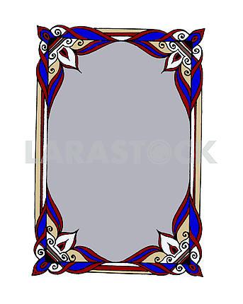 Векторный орнамент (рамка)