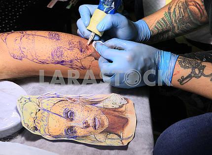 Международный фестиваль художественной татуировки