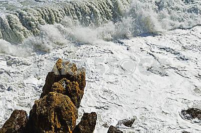 Морські хвилі під час шторму