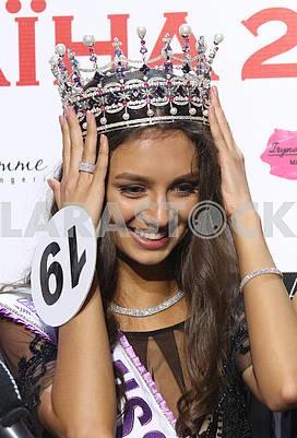 Мисс Украина Полина Ткач