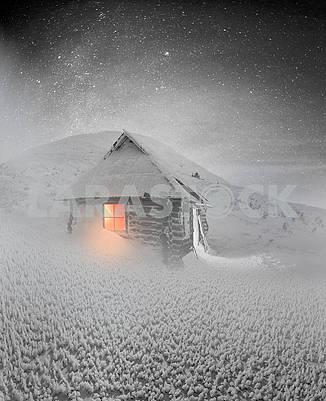 Альпийская хижина для Рождества