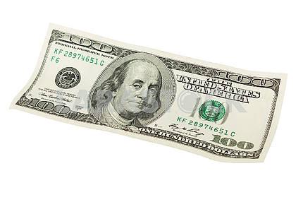 Сто долларов США.