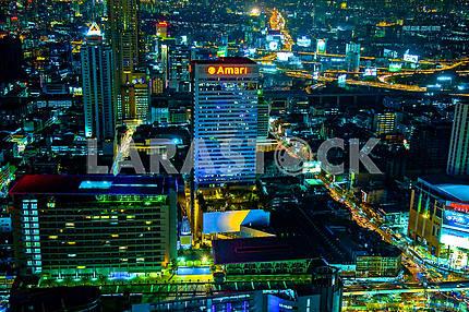 Краски вечернего Бангкока