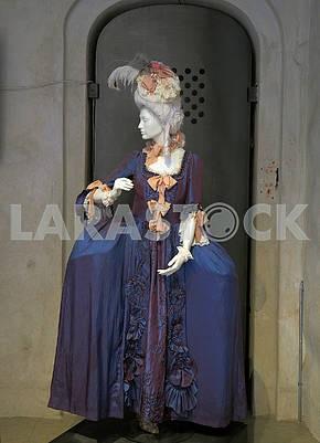 Женское платье в Национальном музее Швеции