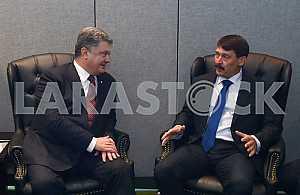 Петр Порошенко и Янош Адер