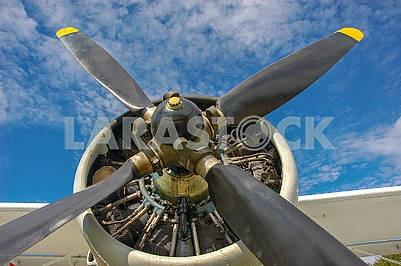 Первый послевоенный украинский самолет АН-2.