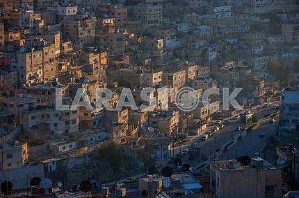 Амман в лучах утреннего солнца