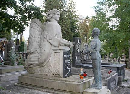 Памятник на Лычаковском кладбище