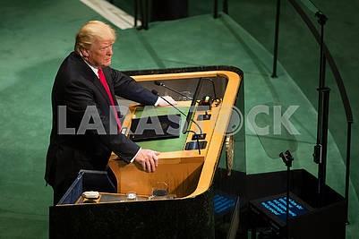 Дональд Трамп в ООН