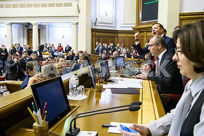 Олег Ляшко, Андрей Парубий, Оксана Сыроид
