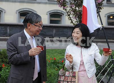 Шигеки Суми и Томоко Суми