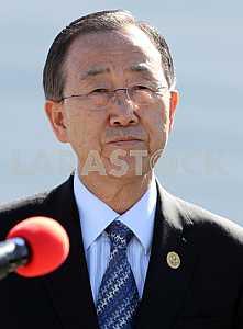 Пан Ги Мун, Генеральный секретарь ООН, 20 апреля 2011 года