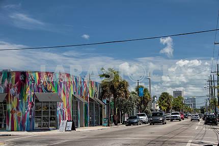 Улица Северо-Запад 2-я авеню. Майами