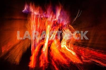 Огонь из камина