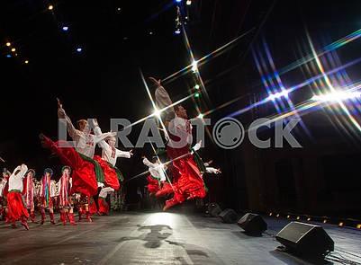 Украинский танец, гопак