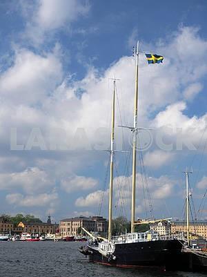 Яхты в порту Стокгольма