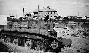 Советский легкий танк БТ-5