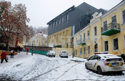 Новое здание Театра на Подоле в Киеве