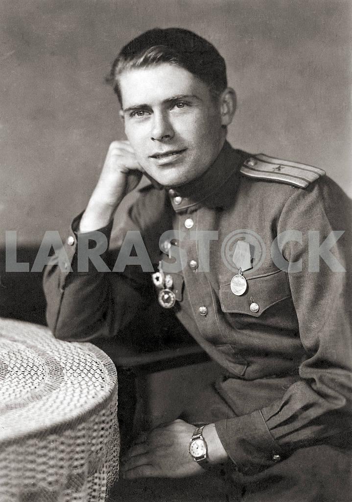 Советский офицер. Портрет — Изображение 23610