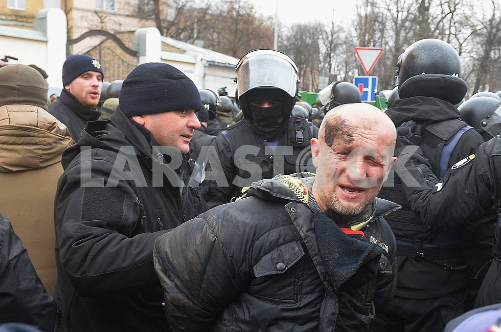 Police detain protesters — Image 66210