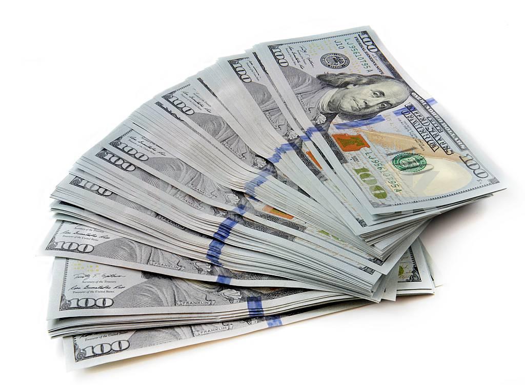 New banknotes of dollars — Image 26330