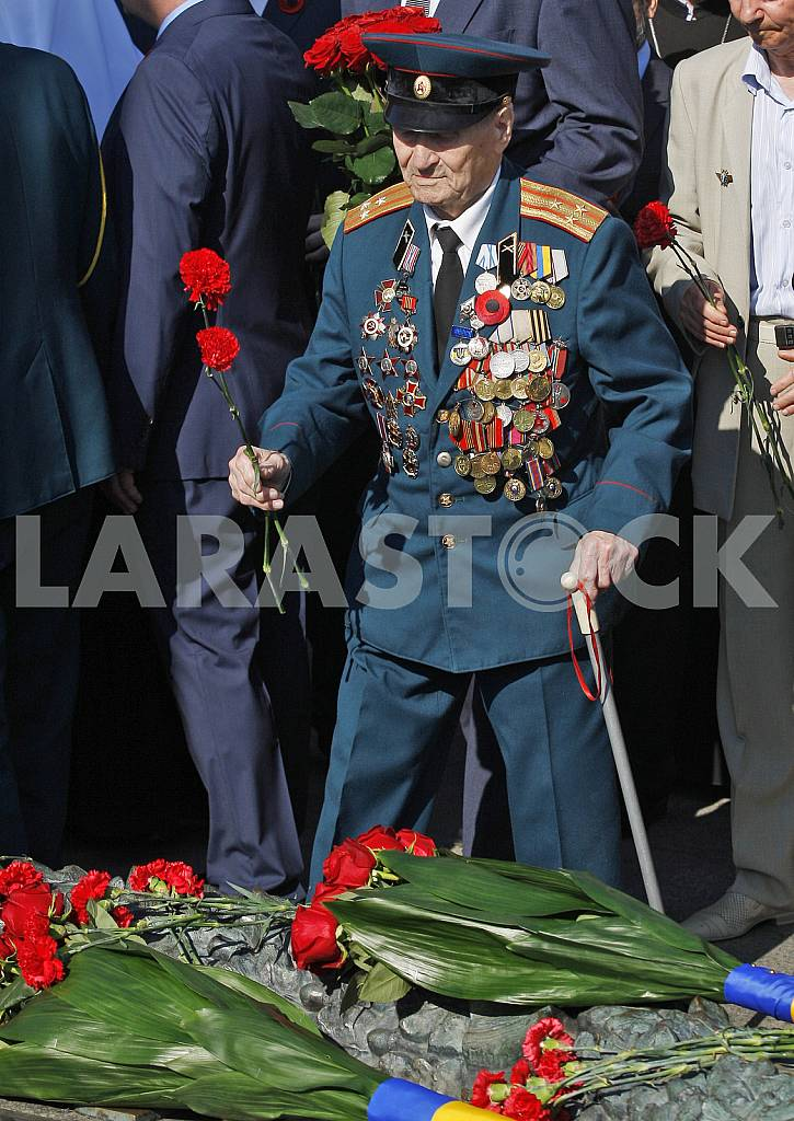 Petro Poroshenko lay flowers at the Tomb of the Unknown Soldier — Image 29540