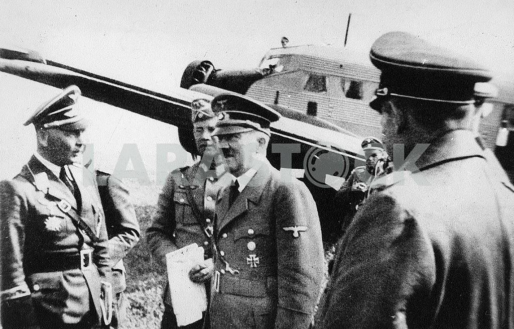 Adolf Hitler and the German High Command — Image 23240