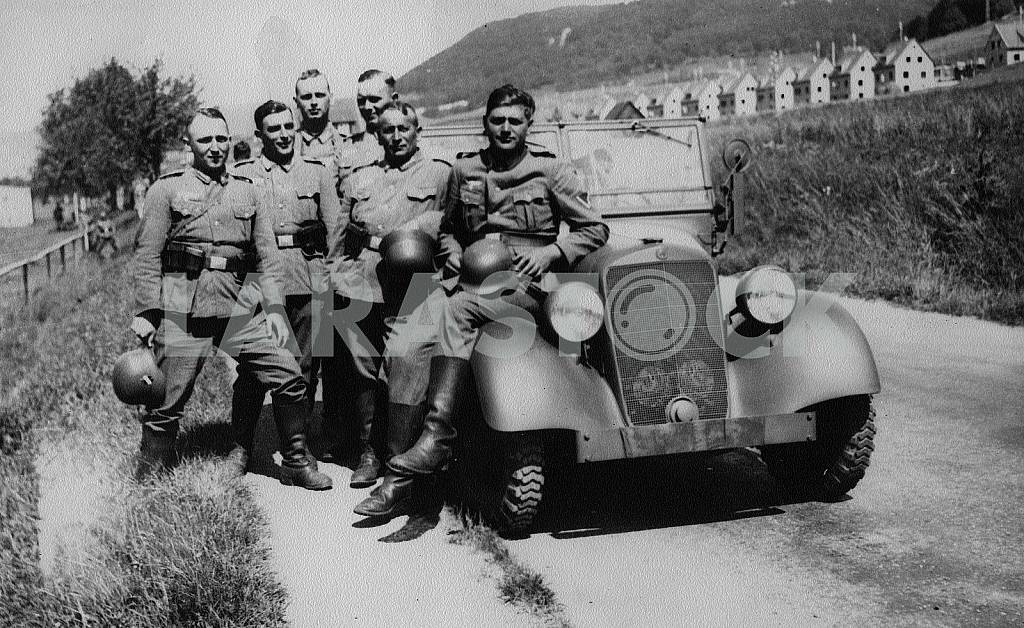 German soldiers in the Czech Republic — Image 22250