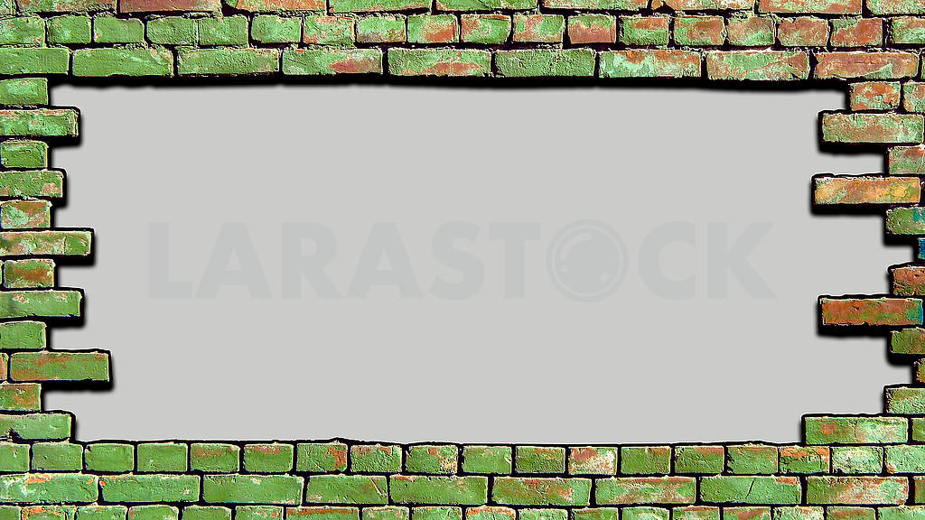 Background old brick wall there is a place for your text. — Image 82960