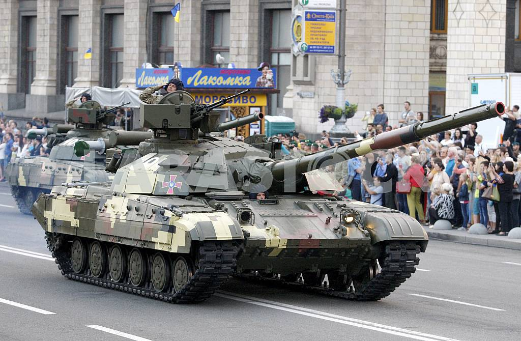 The rehearsal of the military parade in Kiev — Image 34260