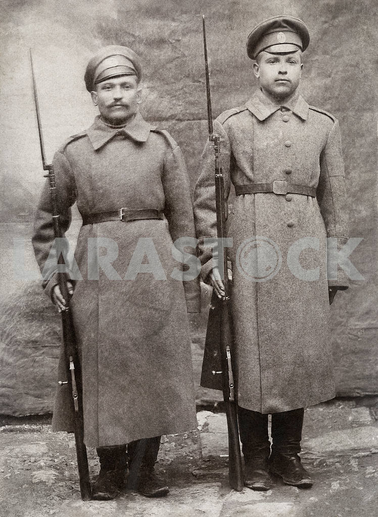 The soldiers of the Russian army. Early 20th century — Image 23570