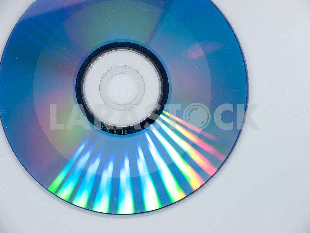 Isolated Compact Disk — Image 61970