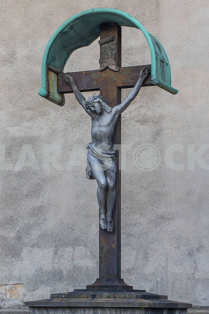 Sculpture Crucifix in Boleslawiec — Image 66990