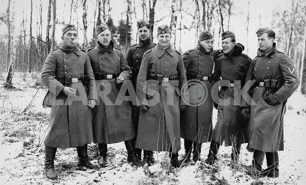 German infantry squadron. The Second World War — Image 22411
