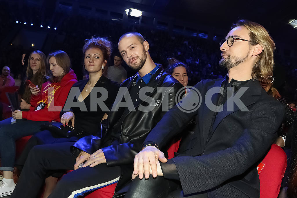 Max Barskikh and Alan Badoev at the award ceremony of the M1 Awards 2016 — Image 48821