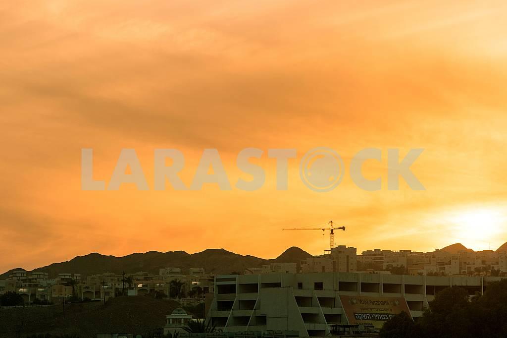 Eilat. Israel. Golden sunset — Image 30441
