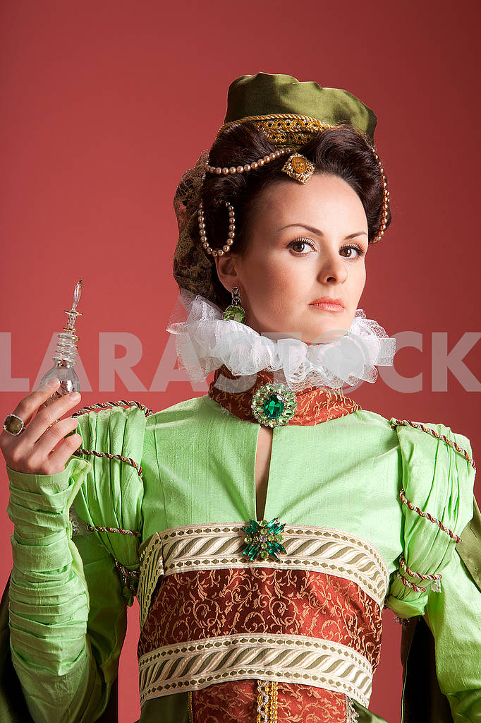 Woman in 16th century style dress — Image 71351