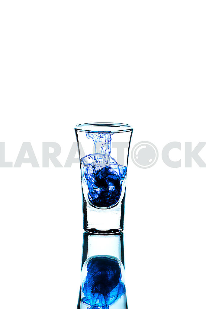 Glass wineglass It stands on the background Glass wineglass It stands on the white background — Image 22781