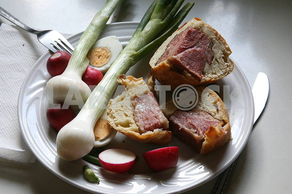 Croatian Easter breakfast,1 — Image 54591