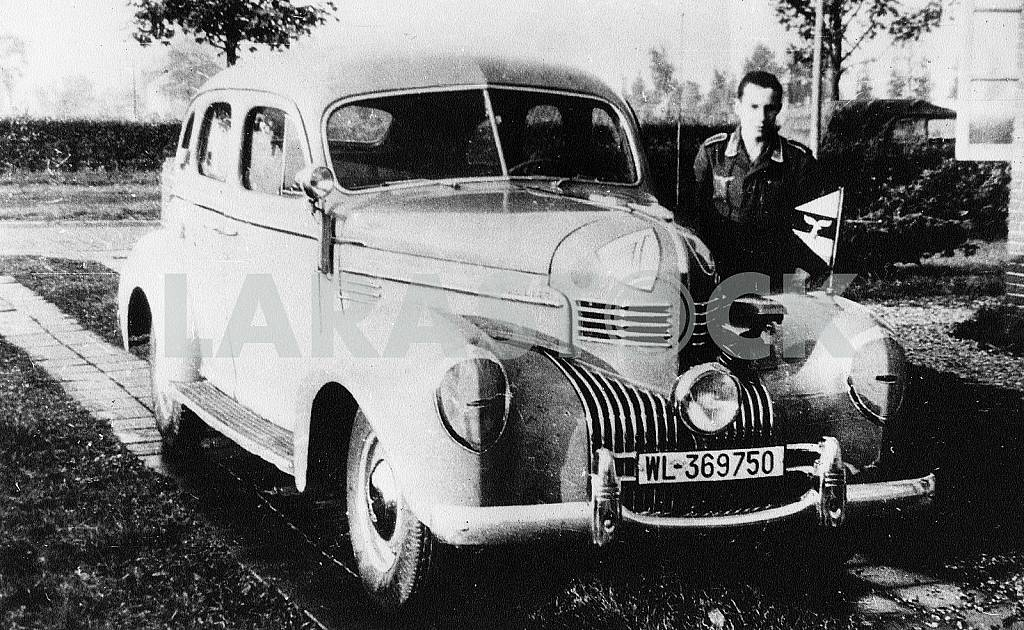 German car Crysler Royal. The Second World War — Image 22402