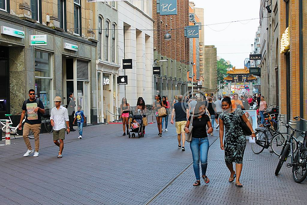 Shopping street in The Hague — Image 38412