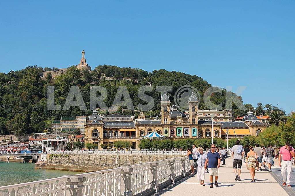 Quay La Concha beach in San Sebastian — Image 42712
